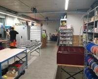 Werkstatt und Lager